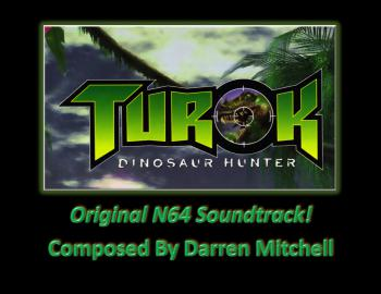 Turok: The Dinosaur Hunter (Original N64 Soundtrack). Front. Click to zoom.