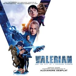 Valerian and the City of a Thousand Planets Original Motion Picture Soundtrack. Передняя обложка. Click to zoom.