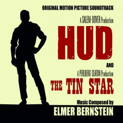 Hud 1963 / The Tin Star 1957 Original Motion Picture Soundtracks. Передняя обложка. Click to zoom.