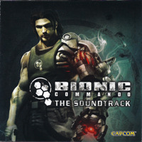 Bionic Commando: The Soundtrack. Передняя обложка. Click to zoom.