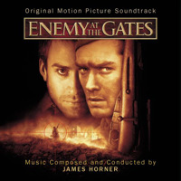 Enemy at the Gates Original Motion Picture Soundtrack. Передняя обложка. Click to zoom.