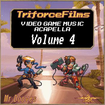Video Game Music Acapella: Volume 4. Front. Click to zoom.