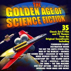 Golden Age of Science Fiction: 35 Classic Film and TV Themes - Original Soundtrack Recordings, The. Передняя обложка. Click to zoom.