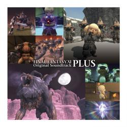 FINAL FANTASY XI Original Soundtrack - Plus. Передняя обложка. Click to zoom.