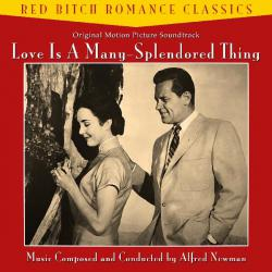 Love Is a Many-Splendored Thing 1955 - Original Motion Picture Soundtrack. Передняя обложка. Click to zoom.