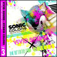 Sonic Colors Original Soundtrack Vivid Sound × Hybrid Colors Vol.3. Передняя обложка. Click to zoom.