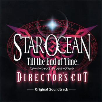 STAR OCEAN Till the End of Time Director's Cut Original Soundtrack. Front. Click to zoom.