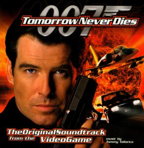 007 Tomorrow Never Dies: The Original Soundtrack from the Video Game. Front. Click to zoom.