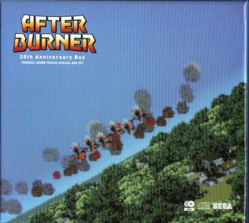 AFTER BURNER 20th Anniversary Box. Box Front. Click to zoom.