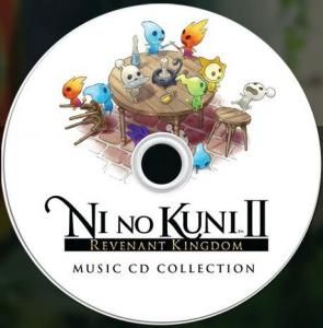 Ni no Kuni II: Revenant Kingdom Music CD Collection. Disc (sample). Click to zoom.