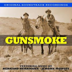 Gunsmoke - Music from the Original Television Soundtrack. Передняя обложка. Click to zoom.