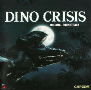 Dino Crisis Original Soundtrack. Front. Click to zoom.