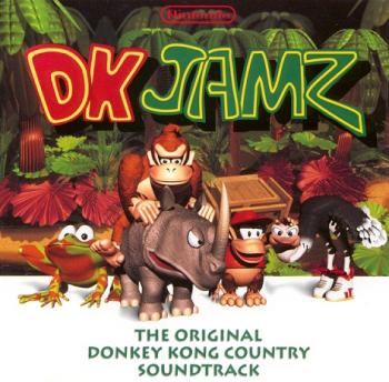 DK Jamz: The Original Donkey Kong Country Soundtrack. Front. Click to zoom.