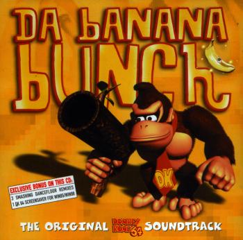 Da Banana Bunch: The Original Donkey Kong 64 Soundtrack. Booklet Front. Click to zoom.