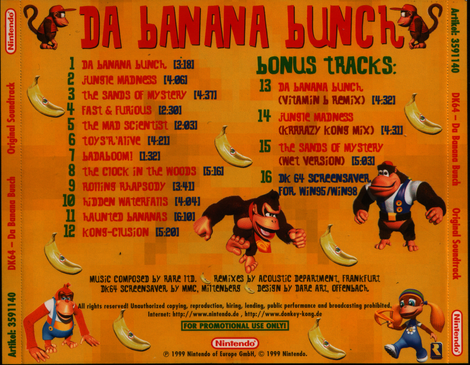 Donkey Kong Country 2 - Download das Músicas mp3