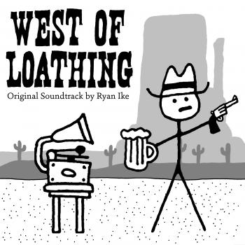 West of Loathing Original Soundtrack. Front. Click to zoom.