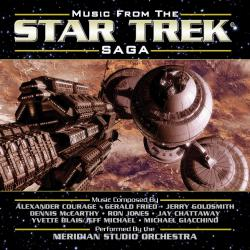 Music from the Star Trek Saga Vol 1. Передняя обложка. Click to zoom.
