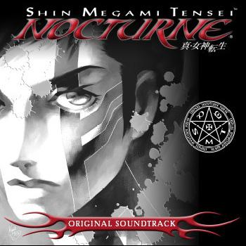 Shin Megami Tensei: Nocturne Original Soundtrack. Front (small). Click to zoom.