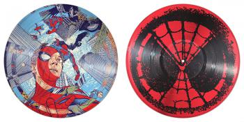 Spider-Man: Homecoming Original Motion Picture Soundtrack. Vinyl, Side 1&2 (provisional). Click to zoom.