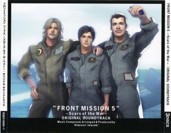 FRONT MISSION 5 ~Scars of the War~ ORIGINAL SOUNDTRACK. Front. Click to zoom.