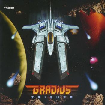 GRADIUS TRIBUTE. Booklet Front. Click to zoom.