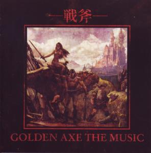 Golden Axe The Music. Booklet Front. Click to zoom.