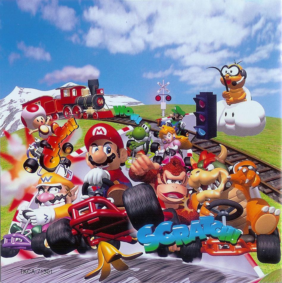 Mario Kart 64 on Club Circuit. Soundtrack from Mario Kart ...