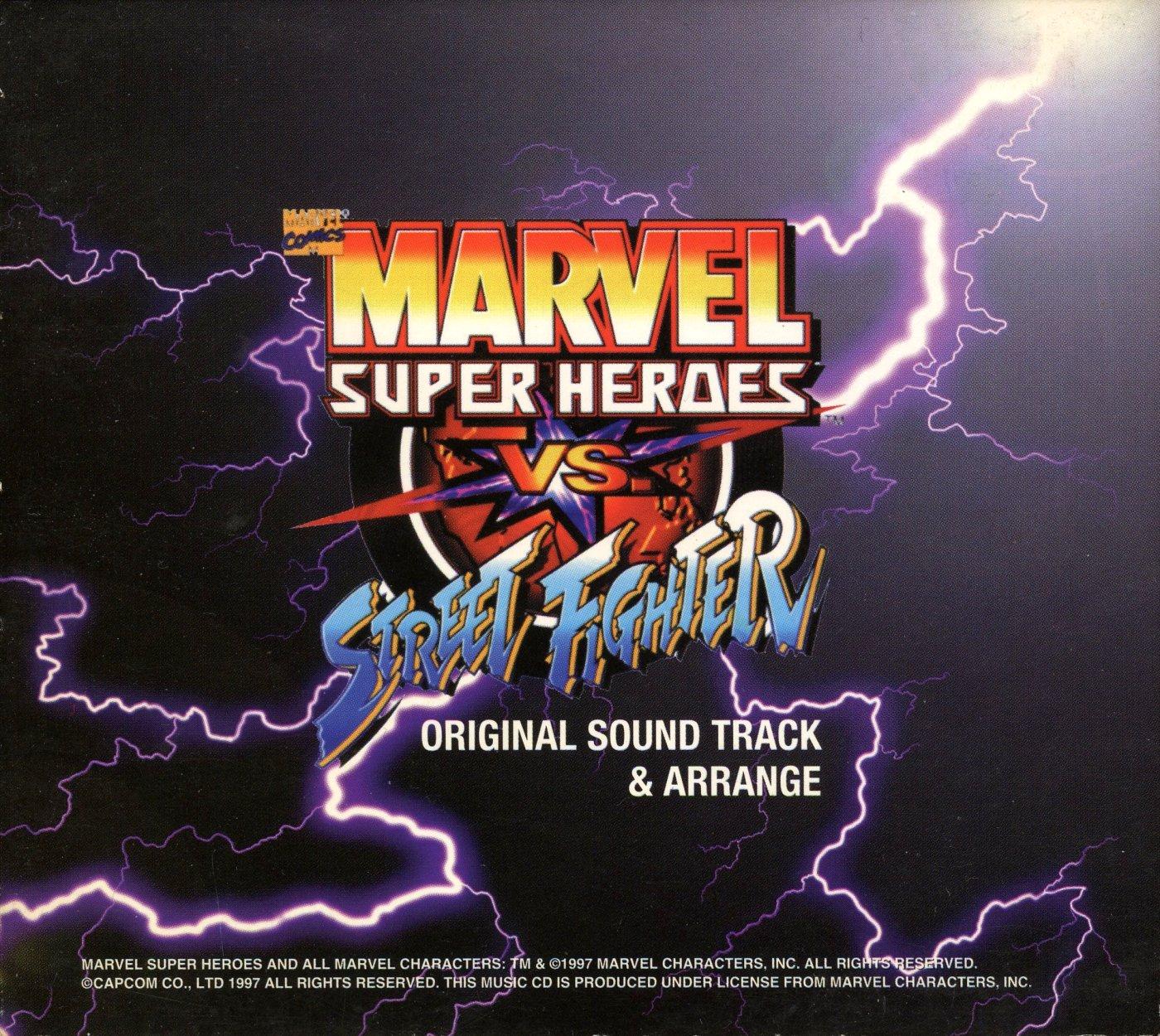 Marvel Super Heroes VS  Street Fighter Original Sound Track