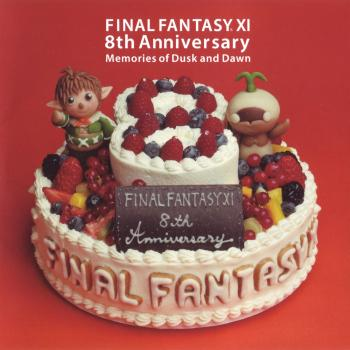 FINAL FANTASY XI 8th Anniversary - Memories of Dusk and Dawn -. Booklet Front. Click to zoom.