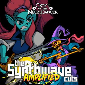 Crypt of the Necrodancer: The Synthwave Cuts AMPLIFIED. Front. Click to zoom.