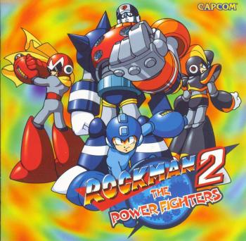 Rockman 2: The Power Fighters. Booklet Front. Click to zoom.
