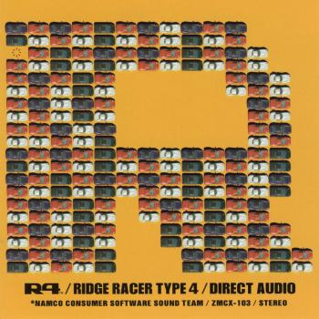 R4 / Ridge Racer Type 4 / Direct Audio. Front. Click to zoom.