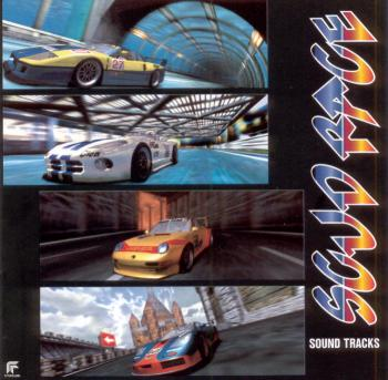 Scud Race Sound Tracks. Front. Click to zoom.