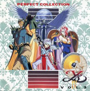 Perfect Collection Ys IV The Dawn of Ys Vol. 3. Booklet Front. Click to zoom.