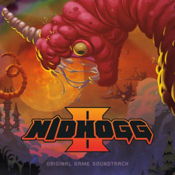 Nidhogg II Original Game Soundtrack. Front. Click to zoom.