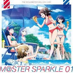 THE IDOLM@STER MILLION LIVE! M@STER SPARKLE 01 - EP, The. Передняя обложка. Click to zoom.