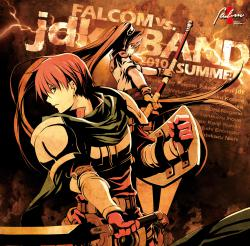 Falcom Vs. Jdk Band 2010 Summer. Передняя обложка. Click to zoom.