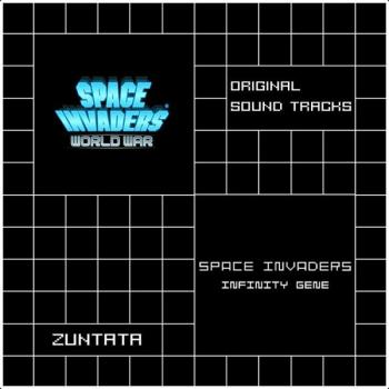 SPACE INVADERS WORLD WAR / SPACE INVADERS Infinity Gene ORIGINAL SOUND TRACKS. Front. Click to zoom.