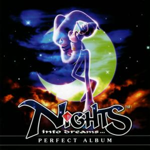 NiGHTS into dreams... PERFECT ALBUM. Booklet Front. Click to zoom.