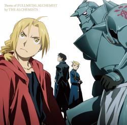 Theme of Fullmetal Alchemist by THE ALCHEMISTS. Передняя обложка. Click to zoom.
