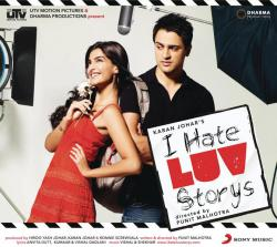 I Hate Luv Storys Original Motion Picture Soundtrack. Передняя обложка. Click to zoom.