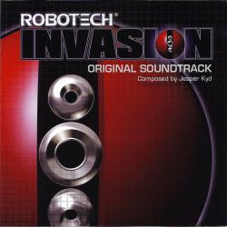 Robotech Invasion Original Soundtrack. Передняя обложка. Click to zoom.