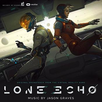 Lone Echo Original Soundtrack from the Virtual Reality Game. Front (small). Click to zoom.