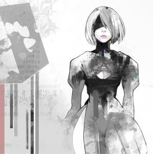 NieR:Automata Original Soundtrack Vinyl. Front. Click to zoom.