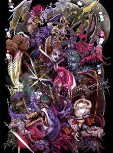 Untempered: FINAL FANTASY XIV Primal Battle Themes. Front. Click to zoom.