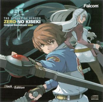 THE LEGEND OF HEROES ZERO NO KISEKI Original Soundtrack mini Black Edition, The. Booklet Front. Click to zoom.