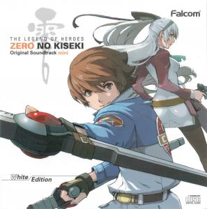 THE LEGEND OF HEROES ZERO NO KISEKI Original Soundtrack mini White Edition, The. Booklet Front. Click to zoom.