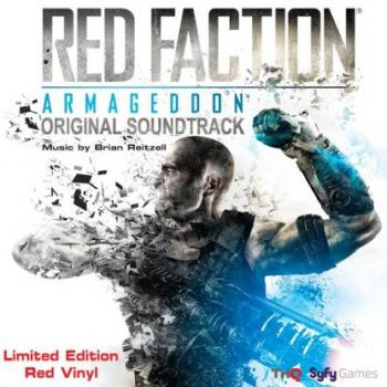 Red Faction: Armageddon Original Soundtrack Limited Edition Red Vinyl. Front. Click to zoom.
