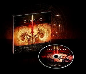 Diablo III Collector's Edition Soundtrack. Case & Disc (small). Click to zoom.