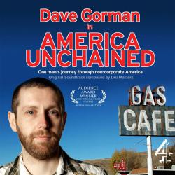 Dave Gorman In America Unchained Original Soundtrack. Передняя обложка. Click to zoom.